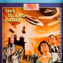 This Island Earth Rare Encore LaserDisc Morrow Sci-Fi *CLEARANCE*
