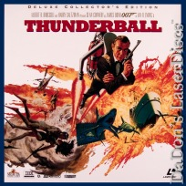 Thunderball THX DSS WS Rare 007 Bond LaserDisc Box-set Sean Connery Spy Action