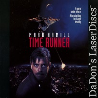 Time Runner AKA In Exile LaserDisc Rare Hamill Chong Sci-Fi