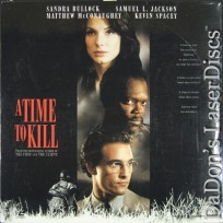 A Time to Kill AC-3 WS NEW Rare LaserDisc McConaughey Bullock Law Drama