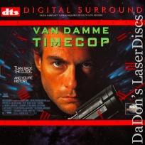 Timecop DTS THX WS NEW Rare LaserDisc Van Damme Sci-Fi