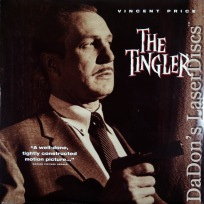The Tingler NEW LaserDisc Price Castle Vintage Horror