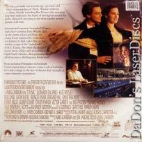 Titanic AC-3 THX WS LaserDisc DiCaprio Winslet Zane Drama