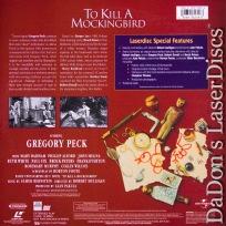 To Kill a Mockingbird THX WS Signature Collection LaserDisc Drama