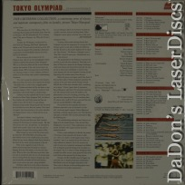 Tokyo Olympiad CAV WS NEW LaserDisc 117 Criterion Box Drama Foreign