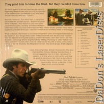 Tom Horn WS Rare LaserDisc McQueen Western Action