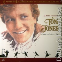 Tom Jones WS 1963 Rare NEW LaserDisc Finney OOP Comedy