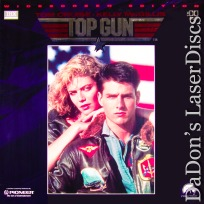 Top Gun AC-3 THX WS Rare LaserDisc Cruise Kilmer Action