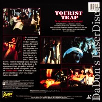 Tourist Trap Shadow Rare Cult LaserDisc Roberts Connors