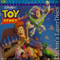 Toy Story DTS THX WS LaserDisc Disney Pixar Family Animation