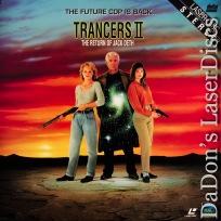Trancers II Return of Jack Deth Full Moon LaserDisc Thomerson Sci-Fi