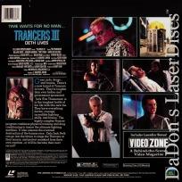 Trancers III Deth Lives Full Moon LaserDisc Thomerson Sci-Fi