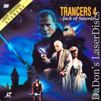 Trancers 4 Jack of Swords Full Moon LaserDisc Thomerson Sci-Fi