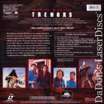 Tremors DSS WS Signature Collection Rare LaserDisc Bacon Sci-Fi