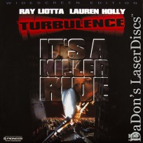 Turbulence AC-3 WS Rare LaserDisc Liotta Holly Action Thriller