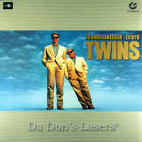 Twins MUSE Hi-Vision LaserDisc HDTV 1080i DeVito Comedy