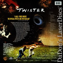 Twister CAV AC-3 THX WS LaserDisc Hunt Paxton Elwes Action
