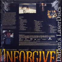 Unforgiven WS DSS Mega-Rare NEW LaserDisc Anamorphic Squeezed Western