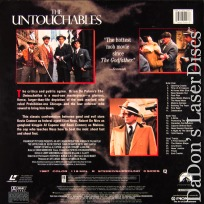 The Untouchables AC-3 WS NEW Remastered Rare LaserDisc DeNiro Crime *CLEARANCE*
