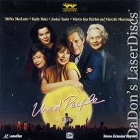 Used People Rare Not-on-DVD LaserDisc Mastroianni Bates MacLaine