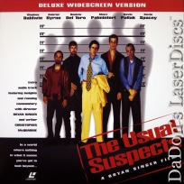 The Usual Suspects Widescreen LaserDisc Sp Ed Spacey Thriller