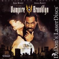 Vampire in Brooklyn AC-3 WS LaserDisc Murphy Bassett Wes Craven Comedic Horror