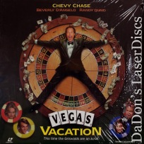 Vegas Vacation AC-3 WS NEW LaserDisc Chevy Chase Quaid