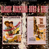 Vengeance Valley Big Trees Roan NEW LaserDisc Double Western