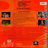Vertigo AC-3 WS Signature Collection Rare LaserDisc Thriller