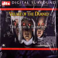 Village of The Damned DTS WS Rare LaserDisc Reeve Alley Horror