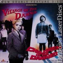 Village of the Damned Children of the Damned LaserDisc Horror