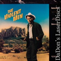 The Violent Men WS PSE Pioneer Special Edition NEW LaserDisc Rancher Western