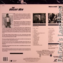 The Violent Men WS PSE Pioneer Special Ed LaserDisc Western