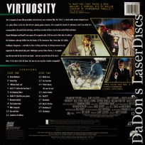 Virtuosity AC-3 WS NEW LaserDisc Washington Crowe Lynch Sci-Fi