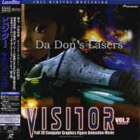 Visitor Vol.2 Encounter AC-3 CAV WS Japan Only LaserDisc 3D Computer Animation