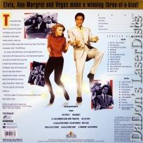 Viva Las Vegas Elvis WS Rare LaserDisc Presley Ann-Margret Musical