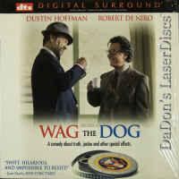 Wag the Dog DTS WS Rare LaserDisc DeNiro Hoffman Comedy