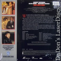 Wait Until Dark WS 1967 LaserDisc Hepburn Arkin Crenna