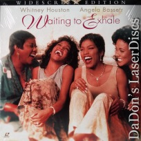 Waiting to Exhale AC-3 WS LaserDisc Houston Bassett Comedy
