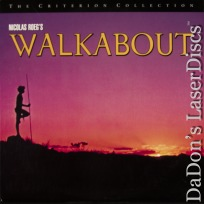 Walkabout Criterion #351 WS Rare NEW LD Agutter Roeg Drama