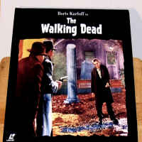 The Walking Dead 1936 LaserDisc Karloff Horror