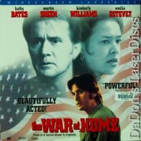 The War at Home AC-3 WS NEW Rare LaserDisc Bates Sheen Estevez Drama