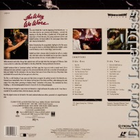 The Way We Were WS PSE LaserDisc Pioneer Special Edition Romantic Drama