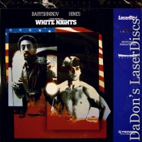 White Nights Widescreen Remastered Rare PSE LaserDisc Hines Rossellini  Drama