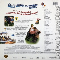 Willy Wonka & the Chocolate Factory AC-3 WS LaserDisc Musical