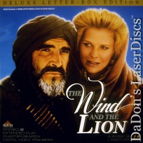 The Wind and the Lion WS Rare LaserDisc Connery Bergen