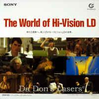 Sony demonstration disc #2 The World of Hi-Vision LD MUSE Rare HDTV 1080i
