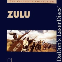 Zulu WS Criterion #54 Rare LaserDisc Caine Hawkins