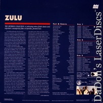 Zulu WS Criterion #54 Rare NEW LaserDisc Caine Hawkins
