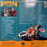 Batman The Movie Mega-Rare Remastered LaserDisc Adam West Sci-Fi